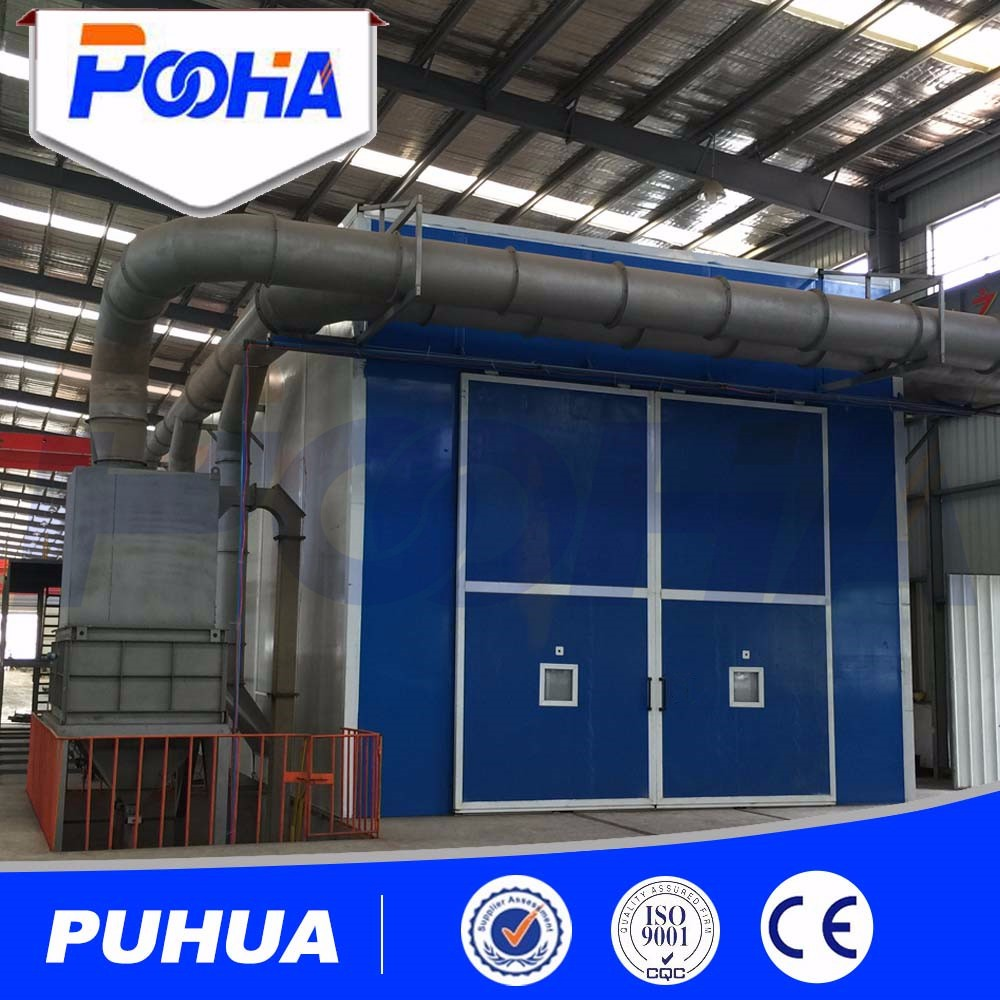Automatic sand blast room abrasive blasting cabinet for metal parts