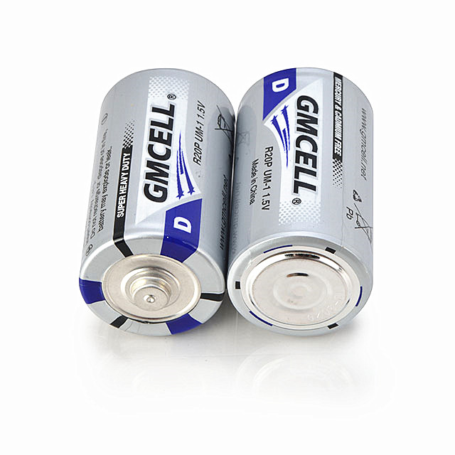 wholesale 1.5v R20P zinc carbon battery 100% Lead free extra heavy duty dry cell battery