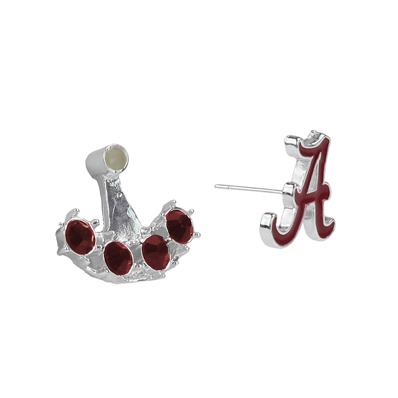 Collegiate University of Alabama at Birmingham Sterling Silver LogoArt U of Alabama at Birmingham Small Post Earrings