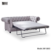 Luxury Gloss Chesterfield Sofa Bed Living Room Furniture MF-SB03