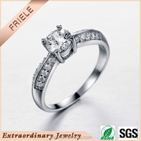 925 sterling silver engraved engagement ring wholesale wedding ring