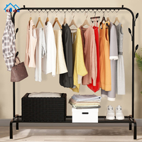 Outstanding manufacture stainless steel metal clothes rack clothes hanger
