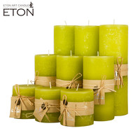 Sweet aroma giant 3x6pillar candle with natural scent