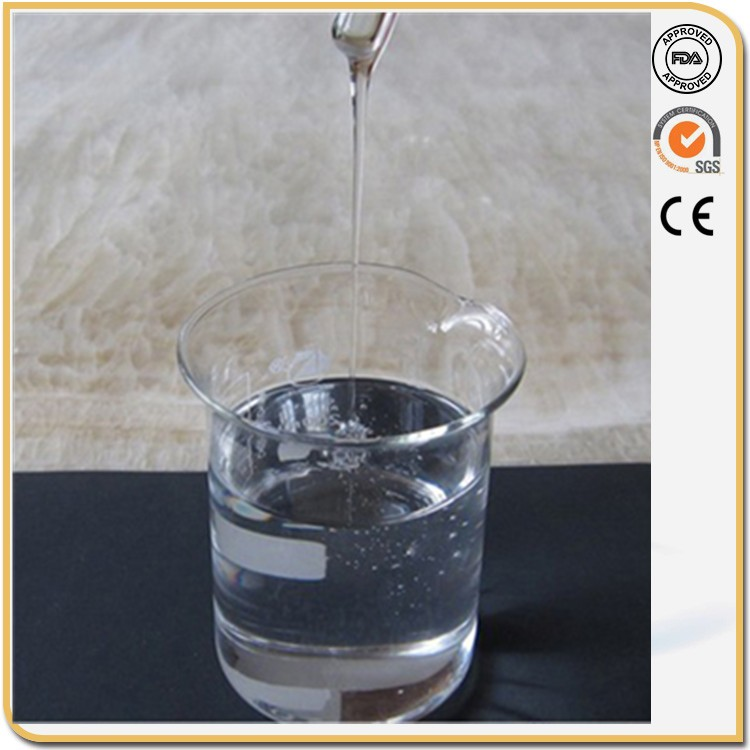 Chemical Auxiliary Agent Hydroxyl Polydimethylsiloxane , OH-Silicone Oil