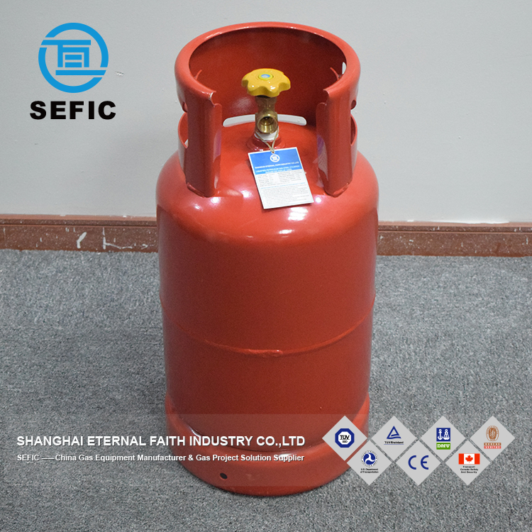 Used For Industry Trade Assurance household Small LPG Gas Cylinder Price Kitchen Cooking Cylinder Price