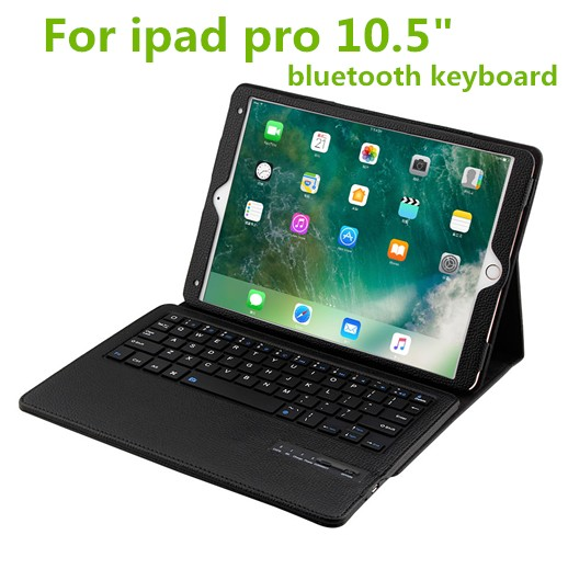 2017 NEW For <strong>iPad</strong> pro 10.5 keyboard case, Detachable wireless keyboard case for <strong>iPad</strong>, bluetooth keyboard case for <strong>iPad</strong> pro 10.5