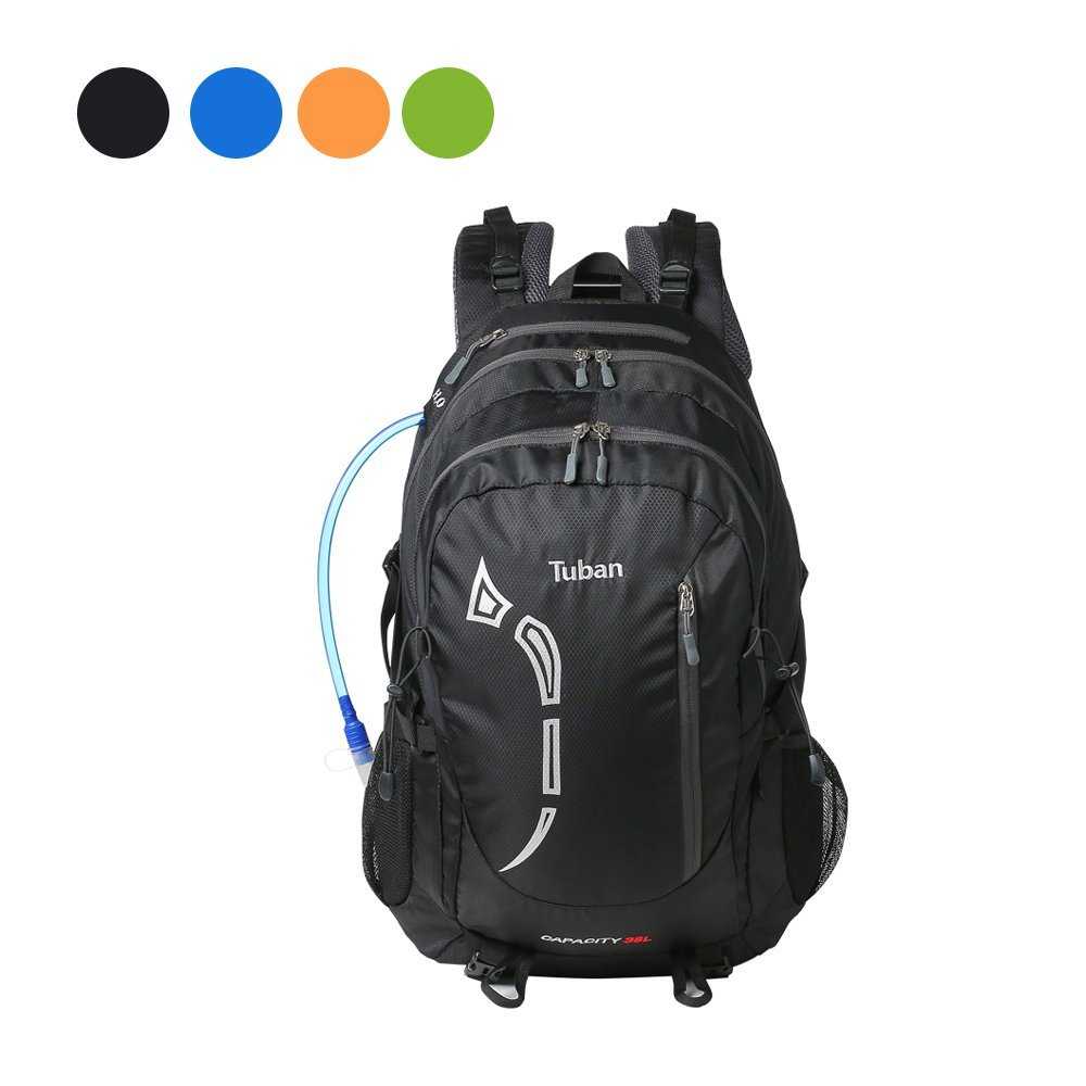 Tuban 38L Hiking Backpack Hydration Backpack Outdoor Cycling Travel  Climbing Camping Fishing Mountaineering Backpack Waterproof rain fef8ea600c0c8