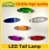 truck and trailer led side marker lamp high quality factory price