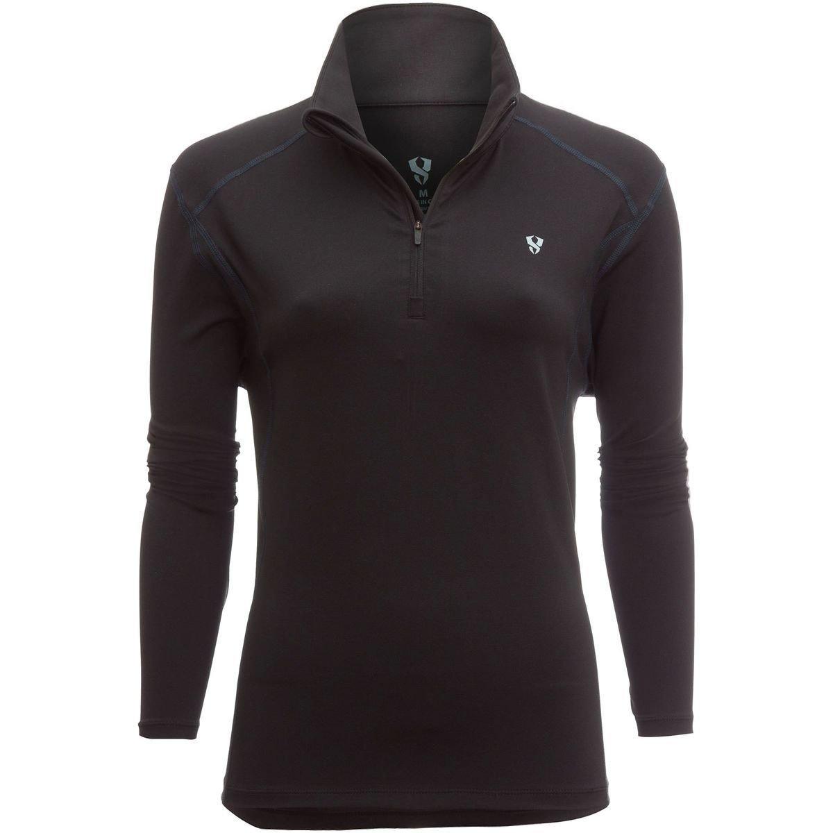 CLIMATESMART Mens Comfortwear Long Sleeve 1//4 Zip Midweight Baselayer Top