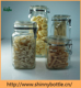 Clip top sets square glass wholesale canning jars