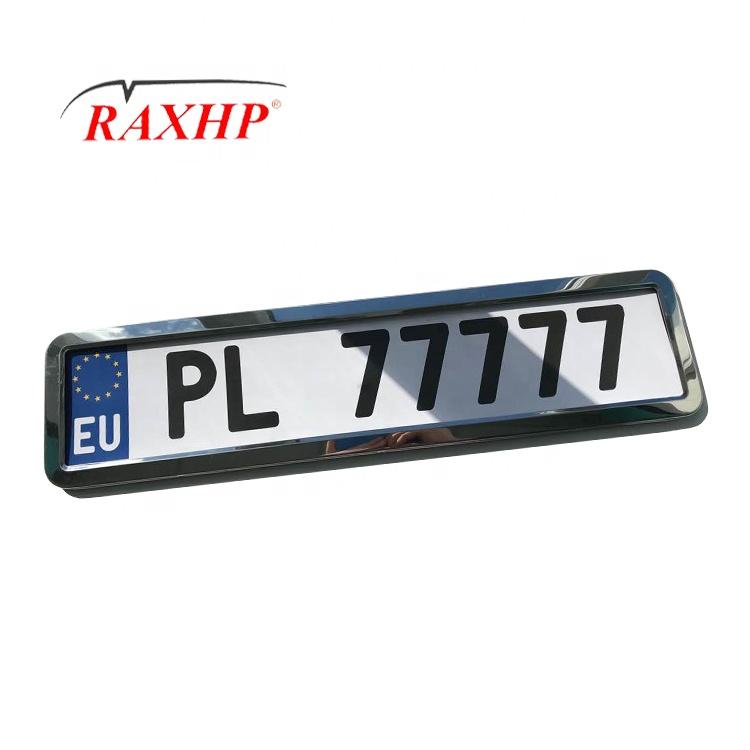 car licence number plate frame