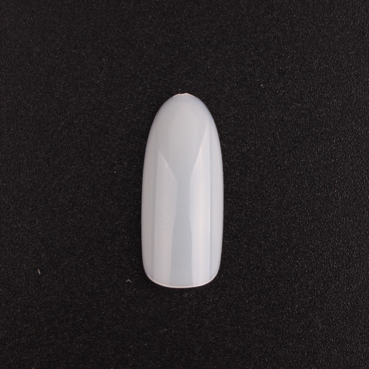 Hot sale French Finger <strong>acrylic</strong> stiletto curved <strong>nail</strong> <strong>tips</strong> round natural