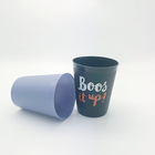2019 Best Selling Highest Quality Lower Price Custom Logo 300ml Milk Juice Plastic Cup With Ball With Free Sample BPA Free