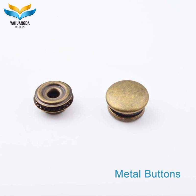 YHD wholesale fashion hidden magnetic snap button for purse