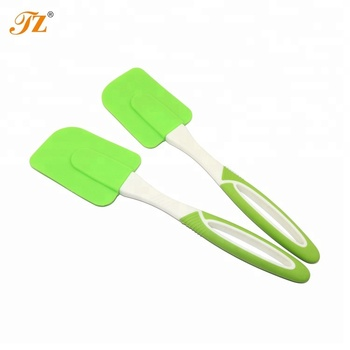 Food Grade Heat Resistant Silicone Spatula Silicone Grill Scraper Baking & Pastry Tools