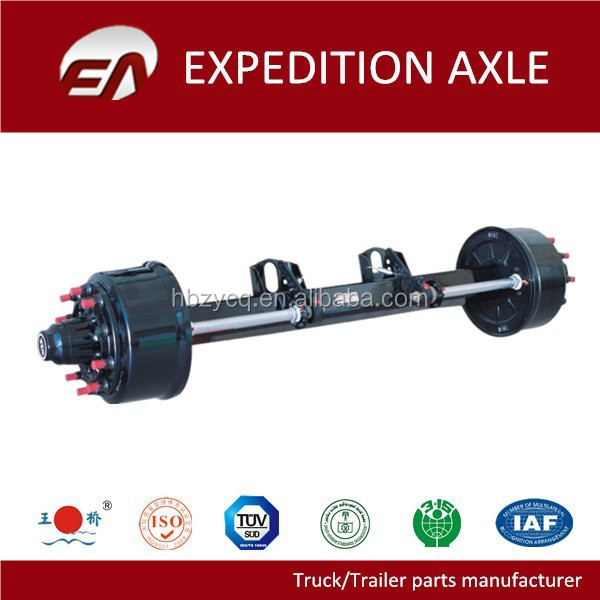 European Type Trailer Parts Small Trailer Axle