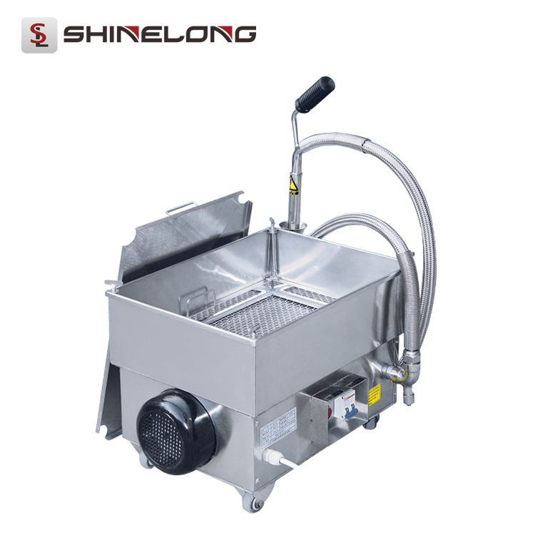 K363 Wholesale High Efficient Electric cooking Oil Filter Cart Filter Machine and Price