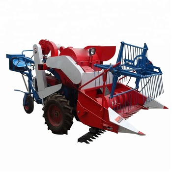 New Small Paddy Mini Rice Wheat Combine Harvester For Selling