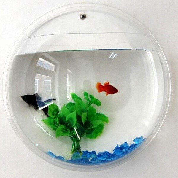 Decoratieve clear acryl vis aquarium tanks voor home decoratie