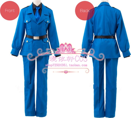 2015 Special Offer Freeshipping Real Freeshipping Adult Unisex Uniform Cloth Modal Axis Powers Hetalia Italy Cosplay Costume
