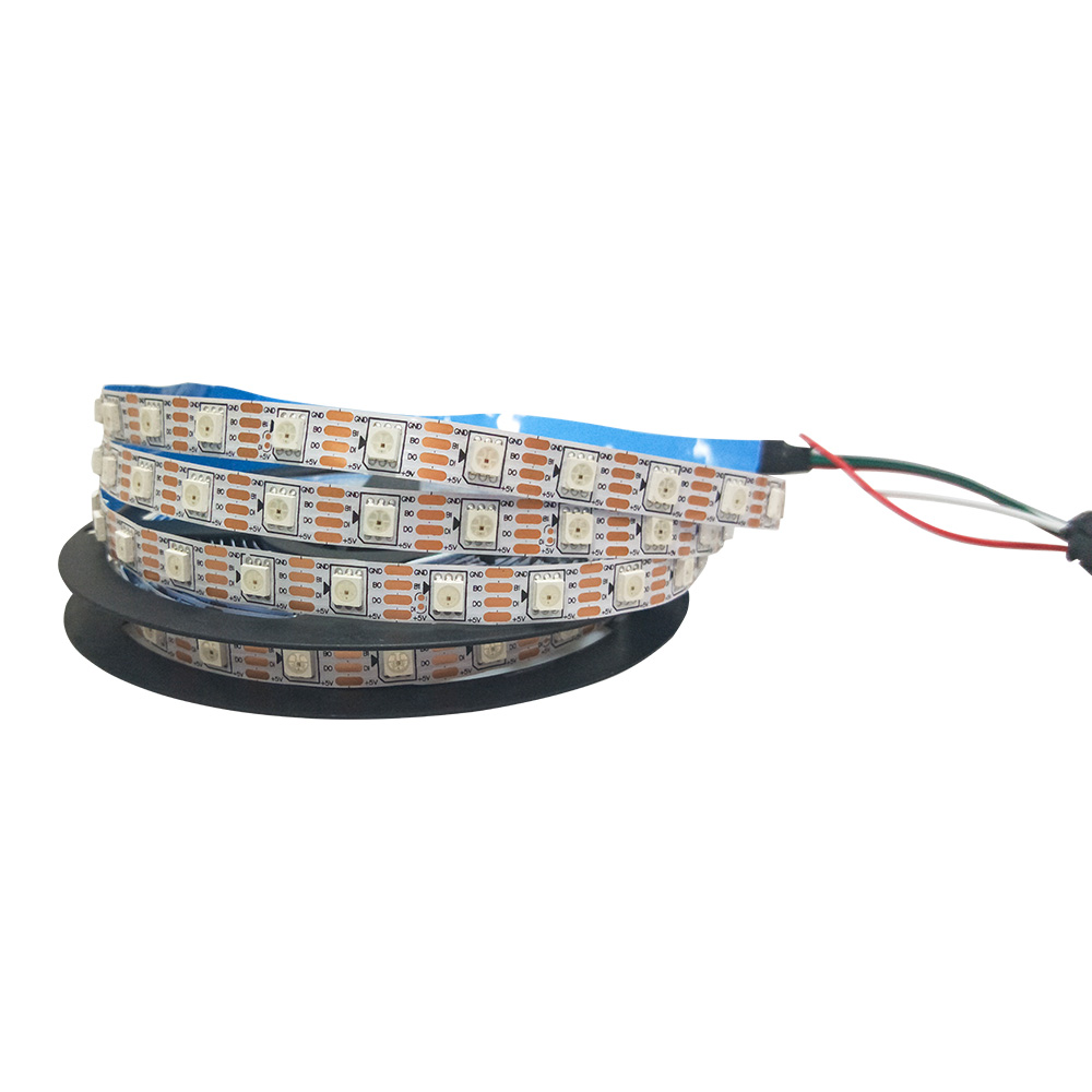 Ws2813 LED Strip 12 V Secara Individual Adressable RGB LED Strip 5050 30 Ledsm