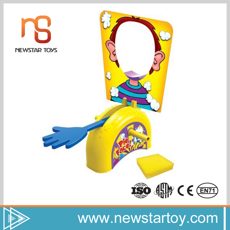 china suppliers high quality party game pie face for sale