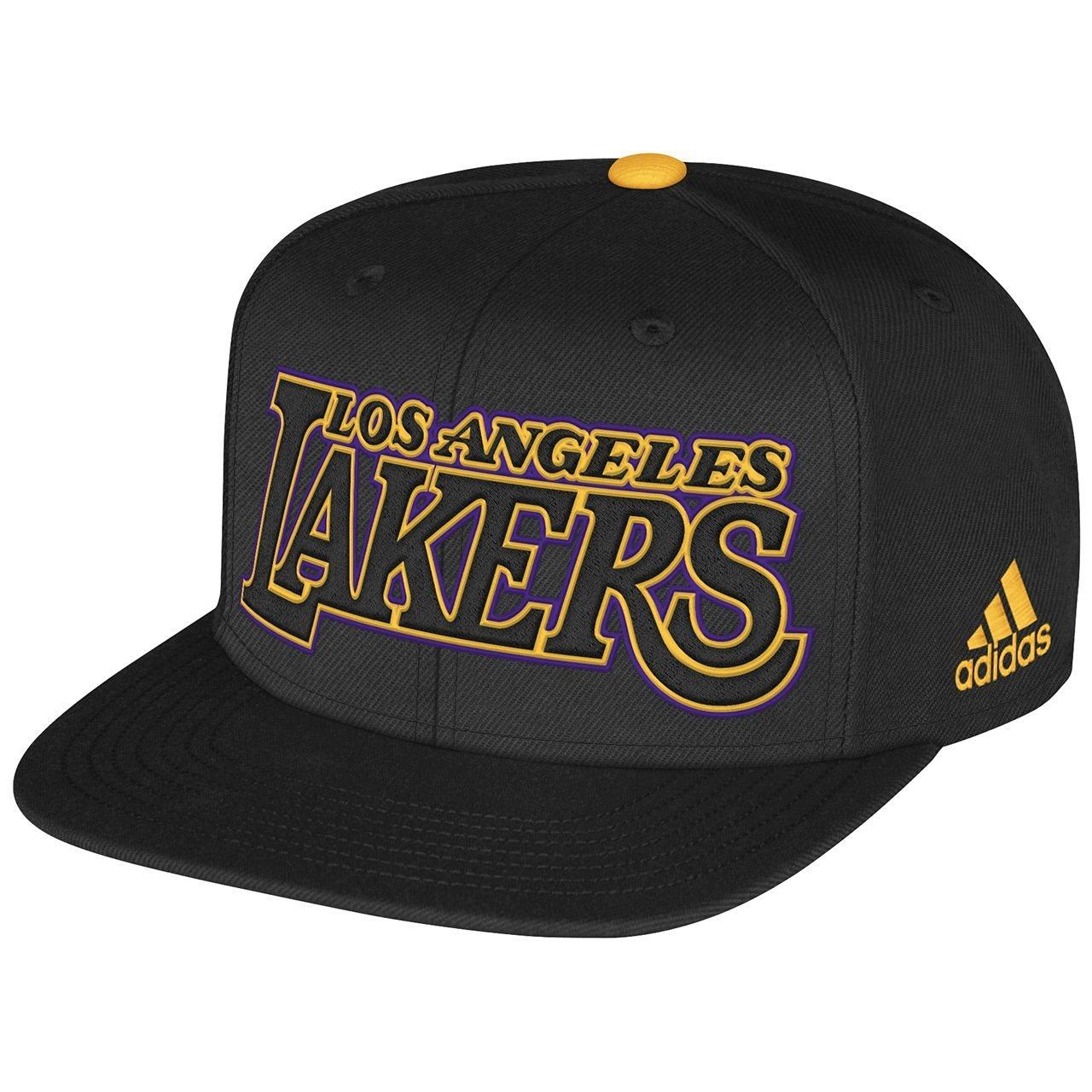 Los Angeles Lakers Adult 2013 NBA Draft Adjustable Snapback Hat - Black