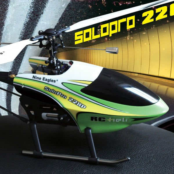 Nine Eagles Solo Pro 228P 4CH Single-propeller RC helicopter