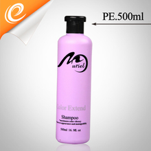 Plastic bottle manufacturing plant 500ml plastic shampoo packaging