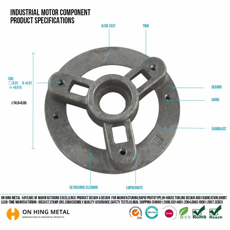 High Demand Die Cast Manufacturer Aluminum Die Casting Part For ...