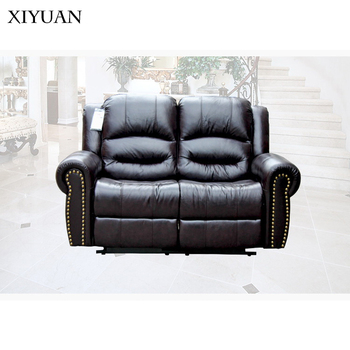 Adjule Cheers Genuine Leather Sofa Recliner