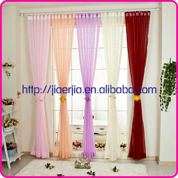 mooie paarse woonkamer gordijnen gordijnstof organza massaal ...