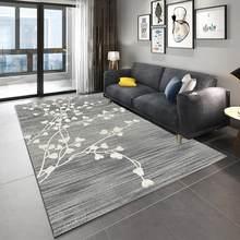 Скандинавский ковер для гостиной, современный 3d-ковер с геометрическим рисунком, нескользящий противообрастающий ковер для гостиной, пост...(Китай)