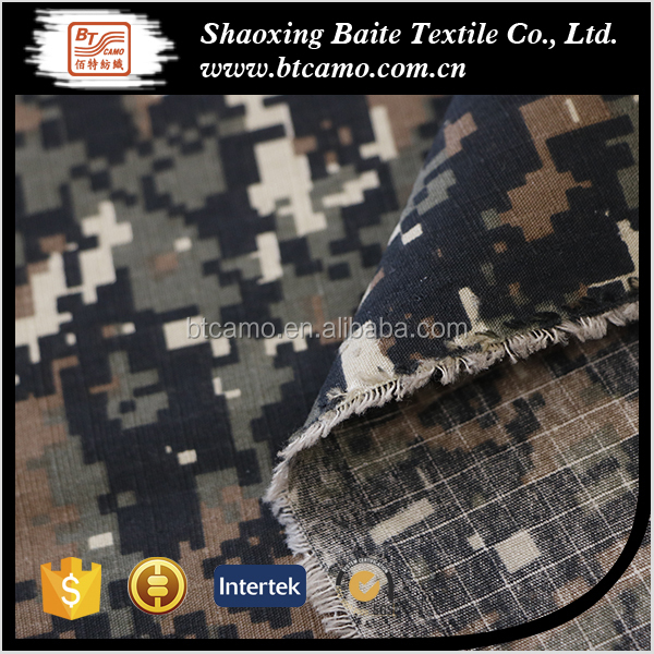 Army Militaire Stof Digitale Camouflage Stof