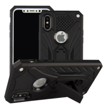 Para o Caso iPhone Funda XS fantasma cavaleiro Estande Armadura Rugged Hard Cover Caixa Do Telefone Do Silicone para o iphone XS MAX <span class=keywords><strong>XR</strong></span>