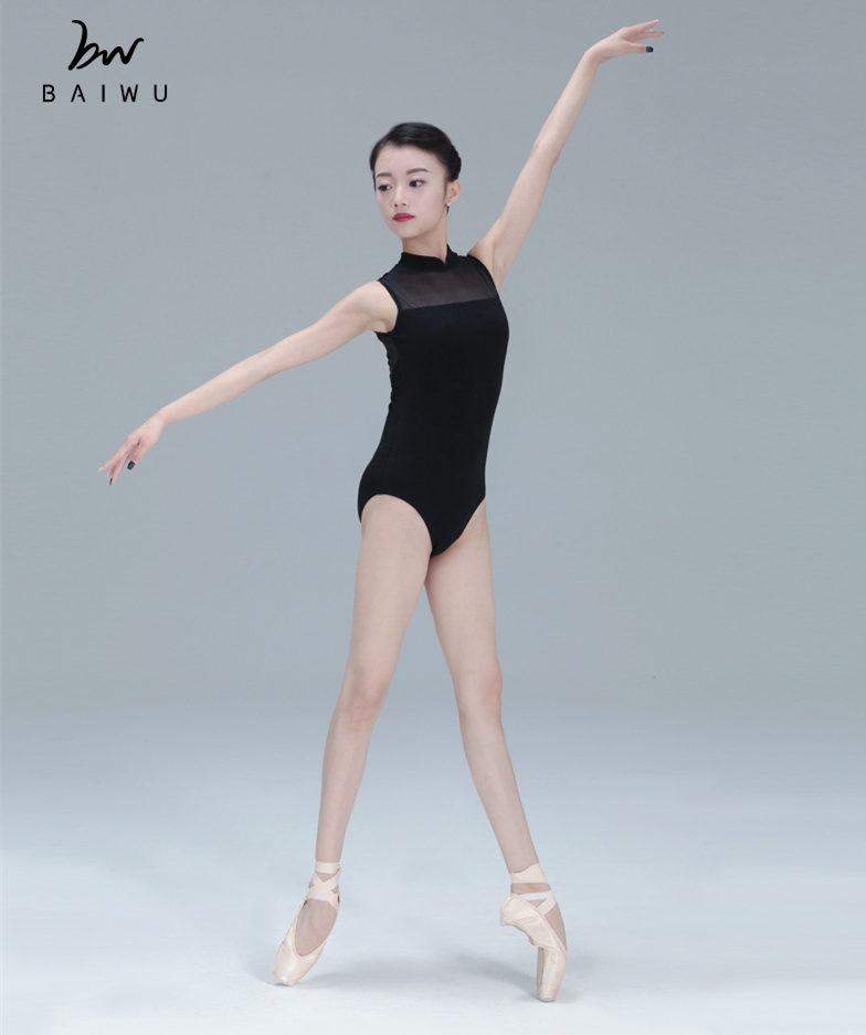 11414118 High Quality Mesh Ballet Leotards Sleeveless Wholesale Leotards