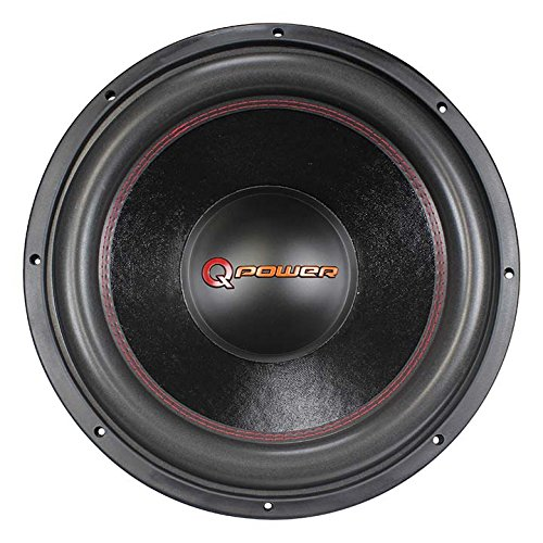 Q Power 15 Inch 4000 Watt Super Deluxe Subwoofer DVC Car Audio Sub | QP15-Super