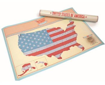 Amazing Places Usa Map Scratch Off Usa Map X-large Black Scratch Off ...