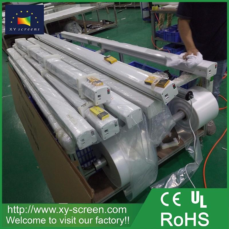 Xyscreen 120 Inch 3d Silver Motorized Projection Screen