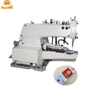 Industrial Automatic Underwear Label Logo Sewing Machine for Socks Label