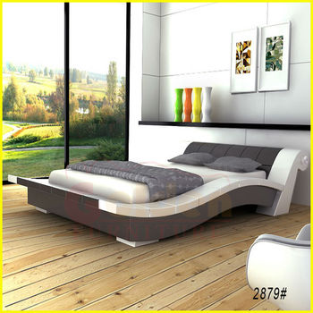 Oro Muebles 2015 King Size Cama De Madera D2879 # - Buy Product on ...