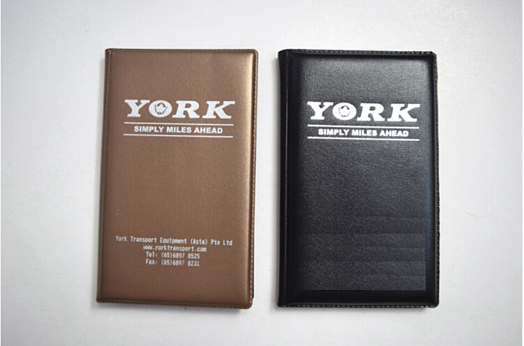 journalist-style leather flip notepad with pad cover and note pad cover