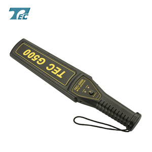 Metal detector hand held gold equipment for public security TEC-G500 hand held gun and weapon security detector.