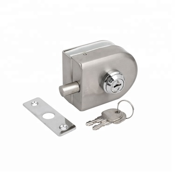 Gl Door Lock Durable Stainless Steel Double Bolts Swing Push Sliding On For Drawer Slide