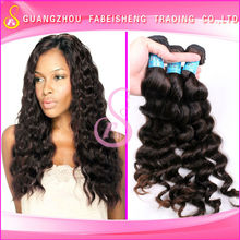 Excellent human hair extensions 4a and 5a high grade perfect quality hot selling loose wave bohyme brazilian wave