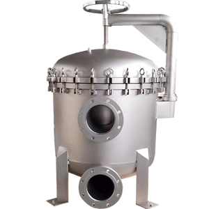 Multi bag stainless steel filter housing in SS304/316 with 2-24 nos of 2# filter bag for water cleaning// 200PSI HIGH PRESSURE