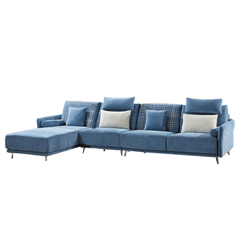 Lm Living Room High Density Foam Corner Sofa