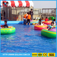 2015 popular battery kids inflatable boat, mini inflatable bumper boat for swimming pool