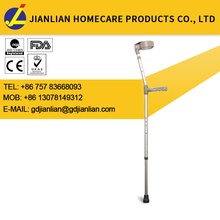 Factory price light weight elbow crutch adjustable for elderly and disabled JL9331L