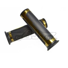 BJ-HB-037 bronze alloy and rubber motorcycle handle grip chopper